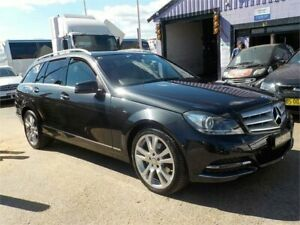 2013 Mercedes-Benz C250 W204 MY13 CDI Avantgarde BE Black 7 Speed Automatic G-Tronic Wagon North St Marys Penrith Area Preview