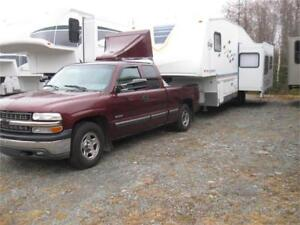 2005 FLEETWOOD ORBIT 275RLS/2000 CHEV 1500 PACKAGE