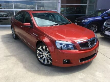 2015 Holden Caprice WN MY15 V Red 6 Speed Sports Automatic Sedan