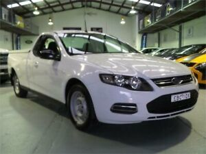 2014 Ford Falcon FG MK2 (LPi) Winter White 6 Speed Automatic Utility Seven Hills Blacktown Area Preview