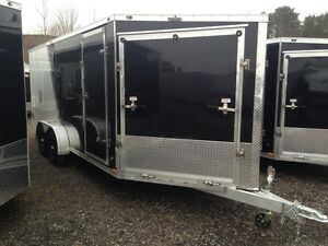 7'x23' Miska Predator Sport Trailer - Loaded