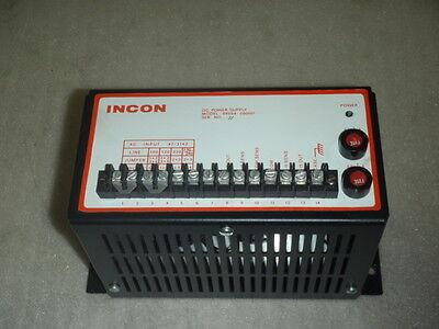 Incon Dc Power Supply 99004-000001 24 Volt 99004000001 24 Vdc