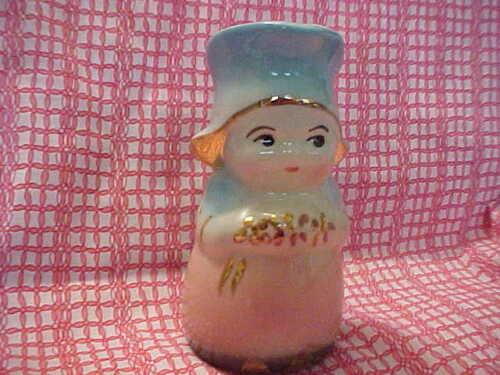 Vintage Shawnee Dutch Girl Betsy Milk/Cream Pitcher Gold Trim.  MINTY!!!