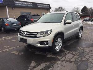 2012 Volkswagen Tiguan LEATHER SUNROOF LOADED VERY CLEAN