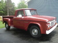 1965 Fargo stepside pickup