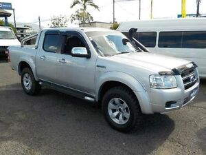 2008 Ford Ranger PJ XLT Crew Cab Silver 5 Speed Automatic Utility Coopers Plains Brisbane South West Preview