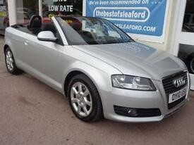 Audi A3 Cabriolet 1.8TFSI 2010 Full Audi S/H Finance Available