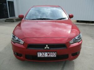 2009 Mitsubishi Lancer  Red Manual Ayr Burdekin Area Preview