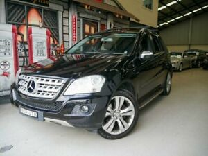 2010 Mercedes-Benz M-Class W164 MY10 ML300 CDI BlueEFFICIENCY Obsidian Black 7 Speed Rydalmere Parramatta Area Preview