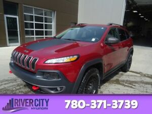 2015 Jeep Cherokee AWD TRAILHAWK Leather,  Heated Seats,  Blueto