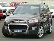 2011 Holden Captiva CG Series II 7 AWD LX Maroon 6 Speed Sports Automatic Wagon Sunbury Hume Area Preview