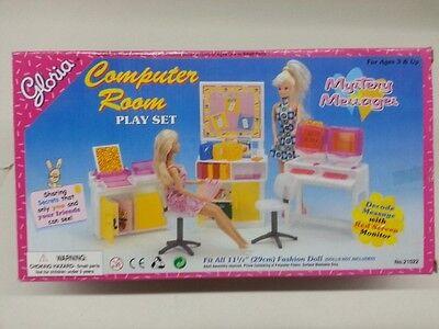 Gloria,Barbie Size Doll House Furniture/(21022) Computer Room