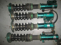 87 98 TOYOTA COROLLA AE111 AGE TEIN ADJUSTABLE COILOVERS JDM