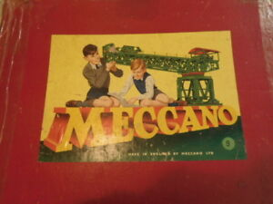 1950'S Mecano set #9 in original box