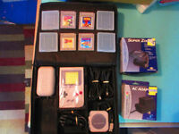 ORIGINAL GAMEBOY SYSTEM COMPLETE WITH GAMES & ACCESSORIES