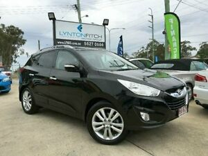 2011 Hyundai ix35 LM MY11 Highlander AWD Black Semi Auto Wagon Southport Gold Coast City Preview