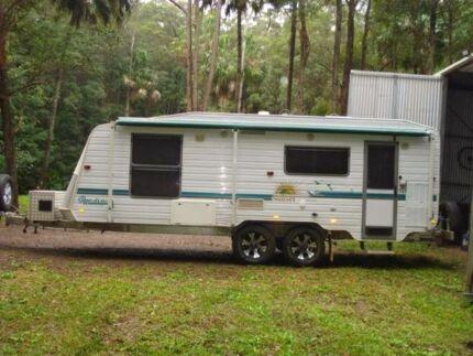 caravan 23 foot swap trade  Joyner Pine Rivers Area Preview
