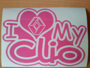renault-i-love-my-clio-heart-girls-girly-vinyl-car-sticker-fun-graphics-hot-pink
