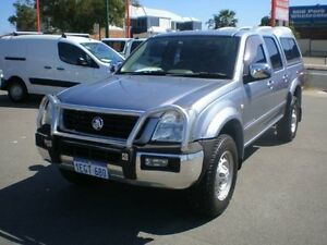 2004 Holden Rodeo RA LX (4x4) Silver 5 Speed Manual Crew Cab P/Up Victoria Park Victoria Park Area Preview