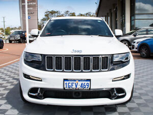 2014 Jeep Grand Cherokee WK MY2014 SRT White 8 Speed Sports Automatic Wagon