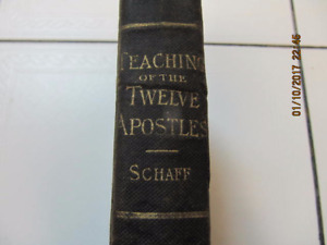 Vintage Classic Teaching Of The Twelve Apostles The Didache 1885