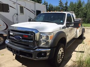 2015 FORD F-550 Super Duty X5H Tow Truck with Wrecker Strathcona County Edmonton Area image 4