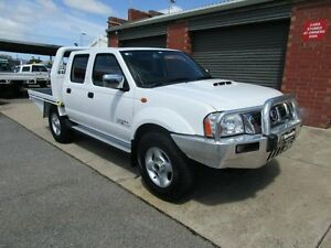 2010 Nissan Navara D22 MY08 ST-R (4x4) White 5 Speed Manual Dual Cab Pick-up Holden Hill Tea Tree Gully Area Preview
