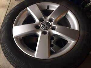 VW Tires and Rims 205/55/R16