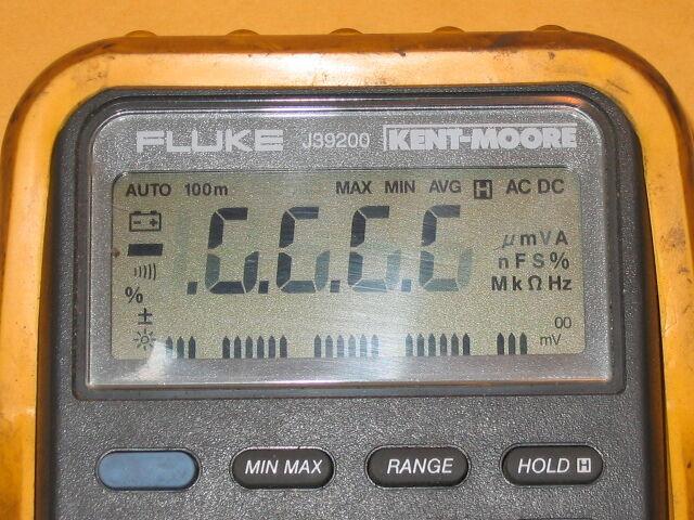 Fluke 87 87-lll Display Fade Repair Kit Kent-Moore J-39200 DMM