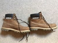 CATERPILLAR CONSTRUCTION BOOTS SIZE 9