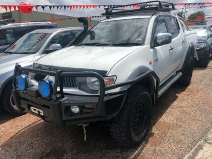2007 Mitsubishi Triton ML MY08 GLX-R (4x4) White 4 Speed Automatic 4x4 Double Cab Utility Hoppers Crossing Wyndham Area Preview