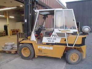 Cat Caterpillar. 11000 lb Capacity Forklift/TowMotor Full Cab