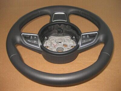 Audi A6 4G A7 C7 A1 8X Multifunction Multi Mfl Leather Steering Wheel PY150