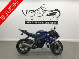 2013 Yamaha YZF R6- Stock#V2801- Free Delivery in the GTA**