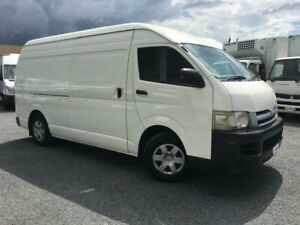 2006 Toyota HiAce TRH221R MY07 SLWB White 5 Speed Manual Van Currumbin Waters Gold Coast South Preview