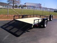 New 2015 Utility 6'-4'' x 12 ft **IDEAL FOR SIDE BY SIDE