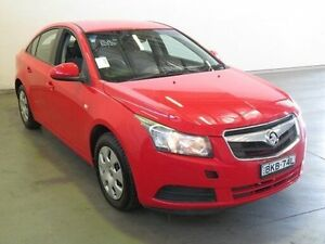 2009 Holden Cruze JG CD Red 5 Speed Manual Sedan Westdale Tamworth City Preview