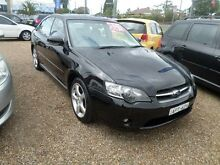 2003 Subaru Liberty MY04 2.5I Black 5 Speed Manual Sedan Sylvania Sutherland Area Preview