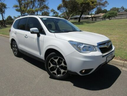 2015 Subaru Forester S4 MY15 2.5i-S CVT AWD White 6 Speed Constant Variable Wagon Old Reynella Morphett Vale Area Preview