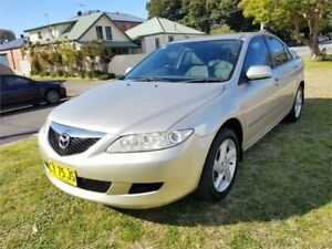 2005 Mazda 6 GG Classic Silver 4 Speed Auto Activematic Hatchback Broadmeadow Newcastle Area Preview