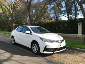 2019 Toyota Corolla ZRE172R Ascent S-CVT White 7 Speed Constant Variable Sedan Hawthorn Mitcham Area Preview