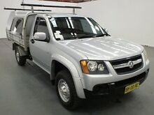 2010 Holden Colorado RC MY10.5 LX (4x2) Silver 4 Speed Automatic Cab Chassis Fyshwick South Canberra Preview