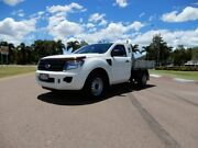 2012 Ford Ranger PX XL 4x2 White 6 Speed Manual Cab Chassis Townsville Townsville City Preview