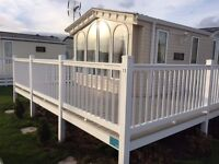 The Elegant 2006 Willerby Vogue Sold as Seen with Plot, Decking and Next Years Site Fee's!!