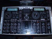 Numark ICDMIX3 Dual MP3/CD System