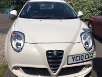 Alfa Romeo Mito Lusso Multi Air White 3 door - immaculate! £4000 or nearest offer.