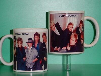 DURAN DURAN - with 2 Photos - Designer Collectible GIFT Mug 02
