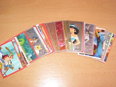 25 Sticker aussuchen Weihnachten mit guten Disney Freunden Sammelbilder Panini