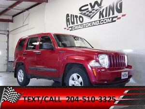 2010 Jeep Liberty Sport / 4x4 / Financing Available