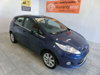 2009 Ford Fiesta 1.25 ( 82ps ) Zetec ***BUY FOR ONLY £28 PER WEEK***